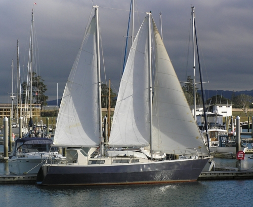 1998 Dutch Schooner Sh/draft
