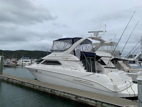 2001 Sea Ray 450 ExpressBridge
